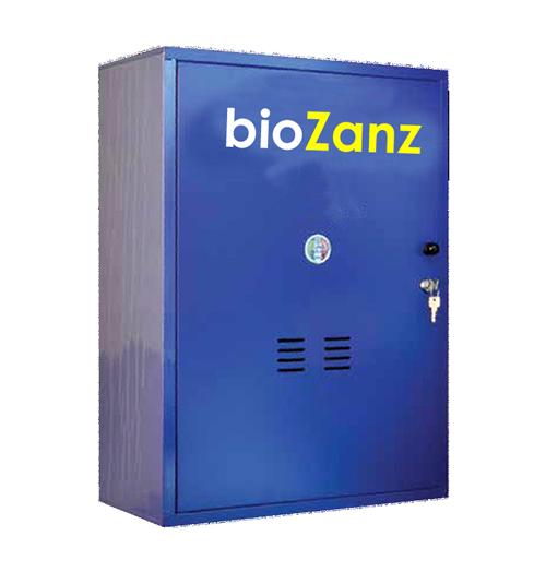 Impianto antizanzare per giardino Biozanz