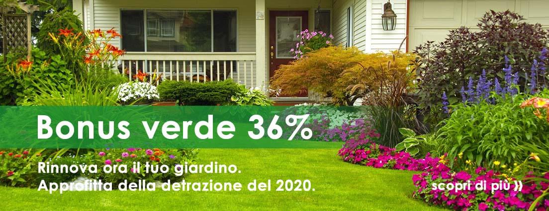 Bonus verde 2020 scopri i dettagli