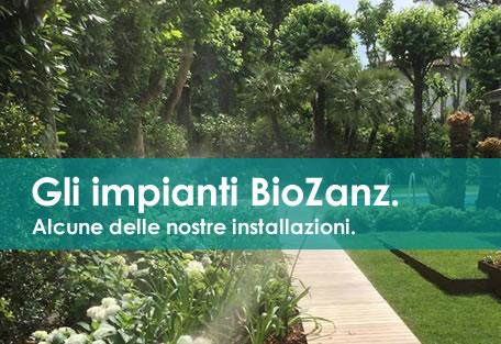 impianti antizanzare per il giardino