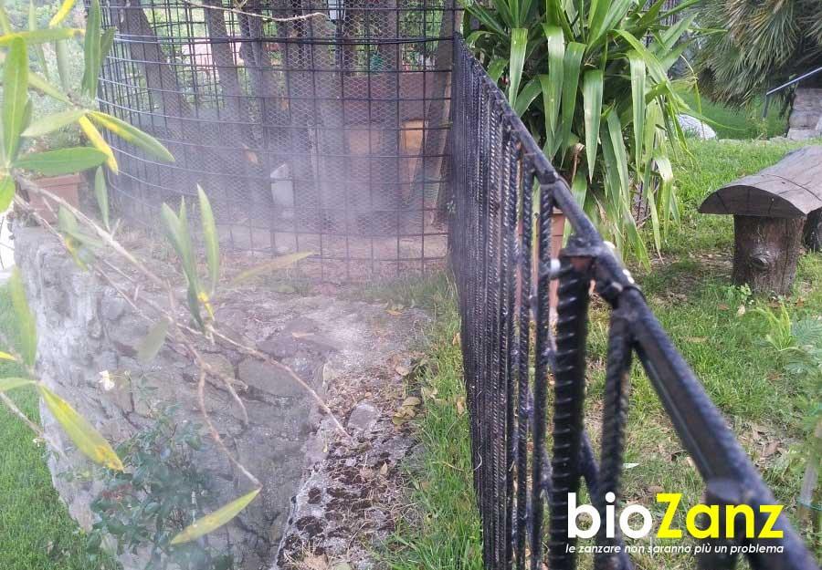 Installazione impianti anzizanzara per il giardino