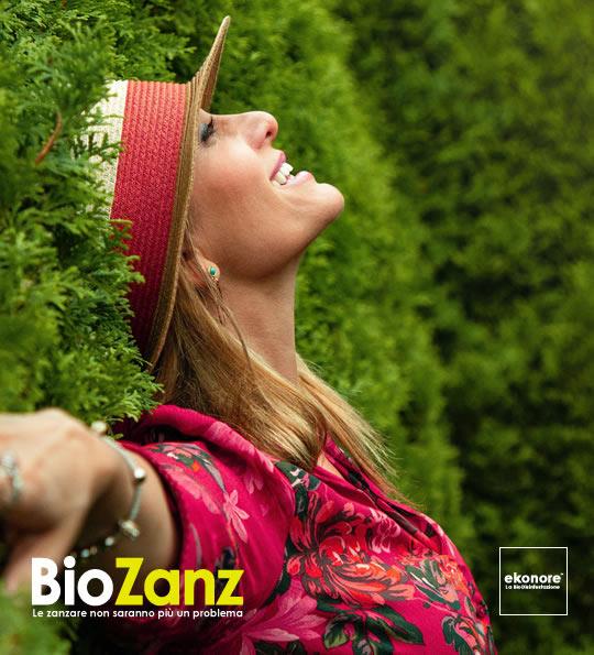 Con biozanz potrai goderti il tuo giardino