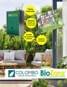 Diventare Rivenditore BioZanz impianto antizanzare