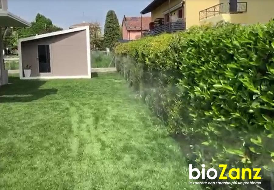 Biozanz Impianto antizanzare per giardino