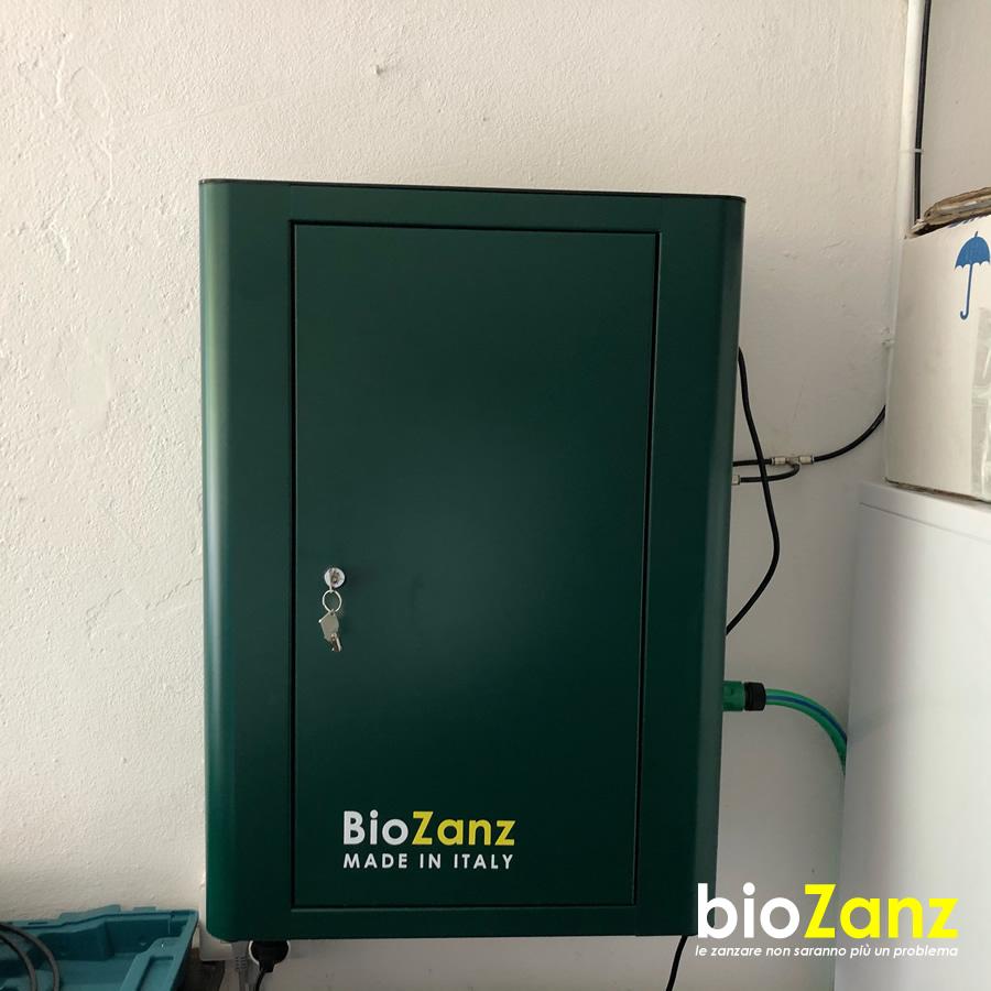 Centralina Biozanz antizanzare biologico impianto da giardino